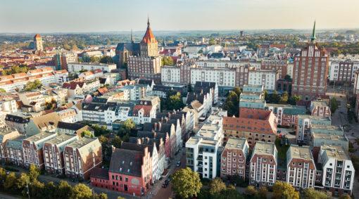 Stadtführung & Schnitzeljagd in Rostock und Warnemünde - Rostock von Oben