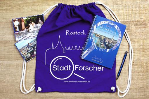 Stadt-Forscher Rostock - Stadtführung & Schnitzeljagd - Gesamtpaket