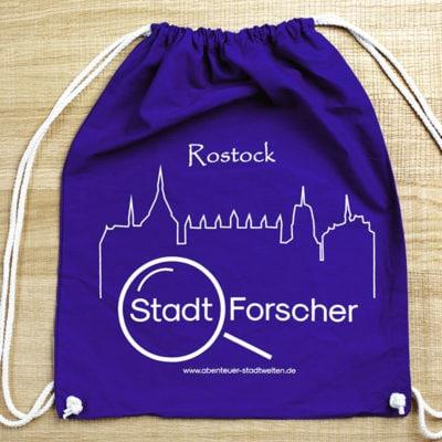 Stadt-Forscher Rostock - Stadtführung & Schnitzeljagd - Rucksack