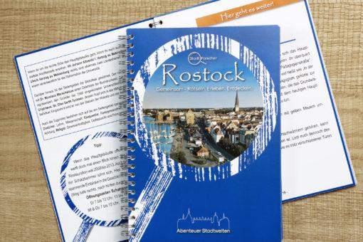Stadt-Forscher Rostock - Stadtführung & Schnitzeljagd - Tourbuch