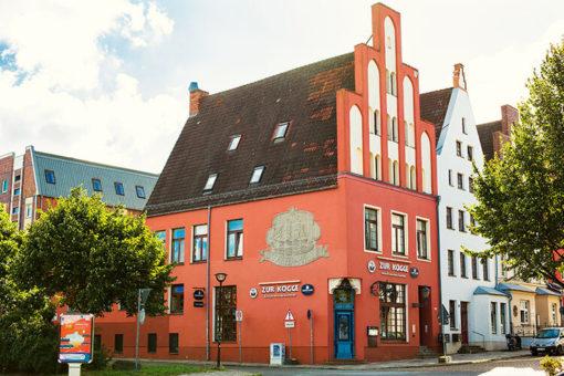 Abenteuer Stadtwelten Stadtführung Rostock Warnemünde Kogge